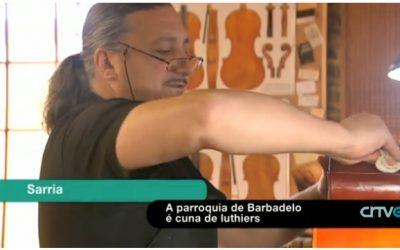 Una parroquia de Sarria, cuna de los mejores Luthiers